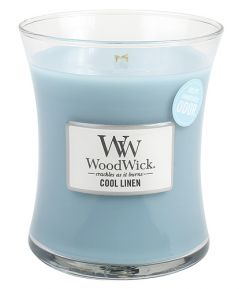 Cool linen - WoodWick sviečka 789004/CL