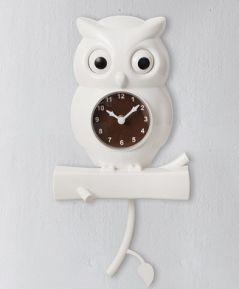 Dekoratívne hodiny SOVA