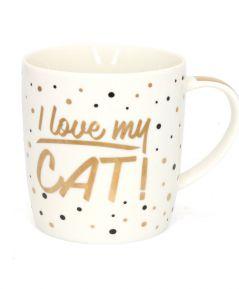 Hrnček I LOVE MY CAT