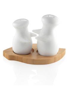 Porcelánová solnička/korenička Postavičky