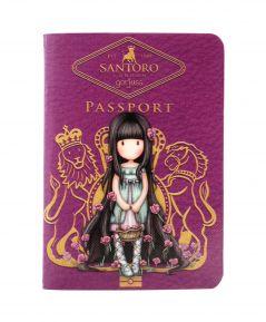 Santoro zápisník PASSPORT ROSEBUD 814GJ01B