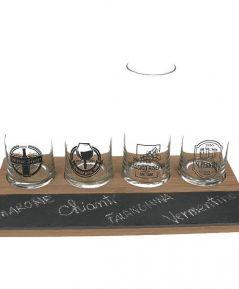 Set na degustovanie vína/bamboo