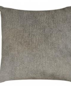 Vankúš z PRAVEJ kožušiny sivý