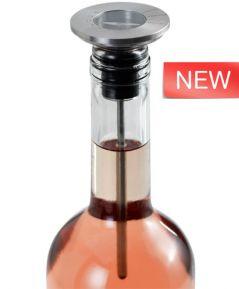 Uzáver/teplomer na víno CHAMP