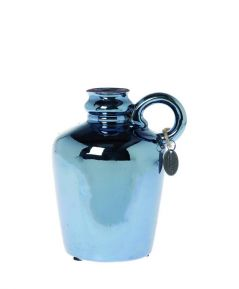 Váza tmavo modrá